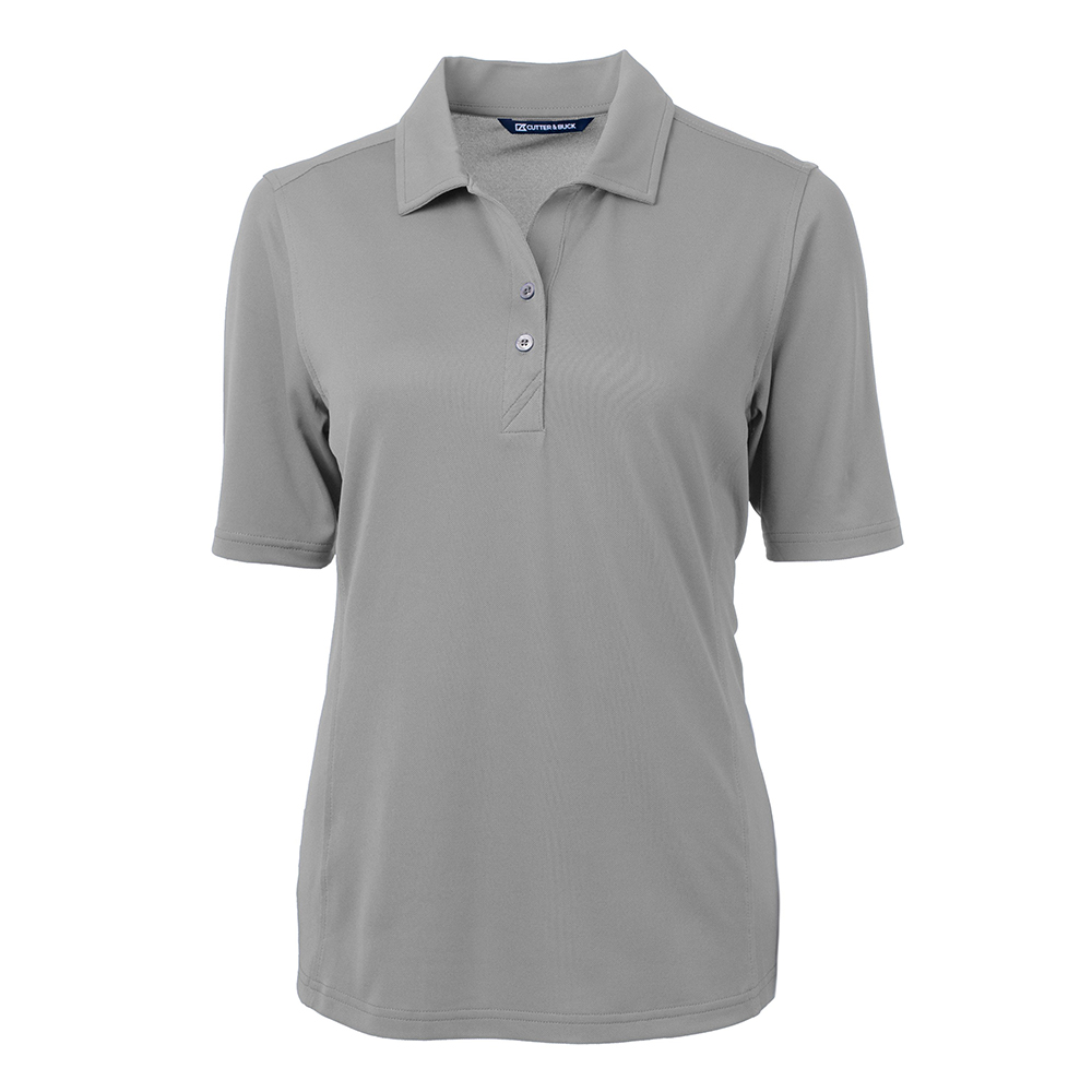 Custom Cutter & Buck Virtue Eco Pique Recycled Polo - Ladies