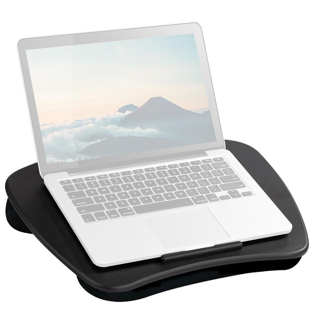 Lapgear Custom Lap Desk with Device Ledge and Cushion Back
