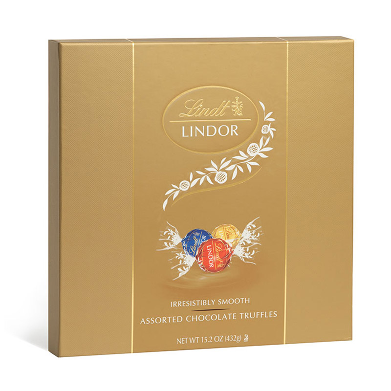 Lindt Assorted Lindor Chocolate Truffle Gift Box 36 pc.