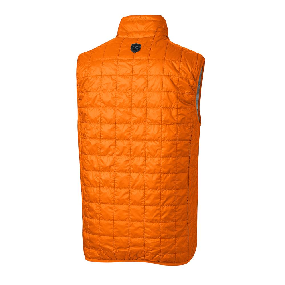 Custom Cutter & Buck Rainier PrimaLoft Eco Full Zip Vest - Men's