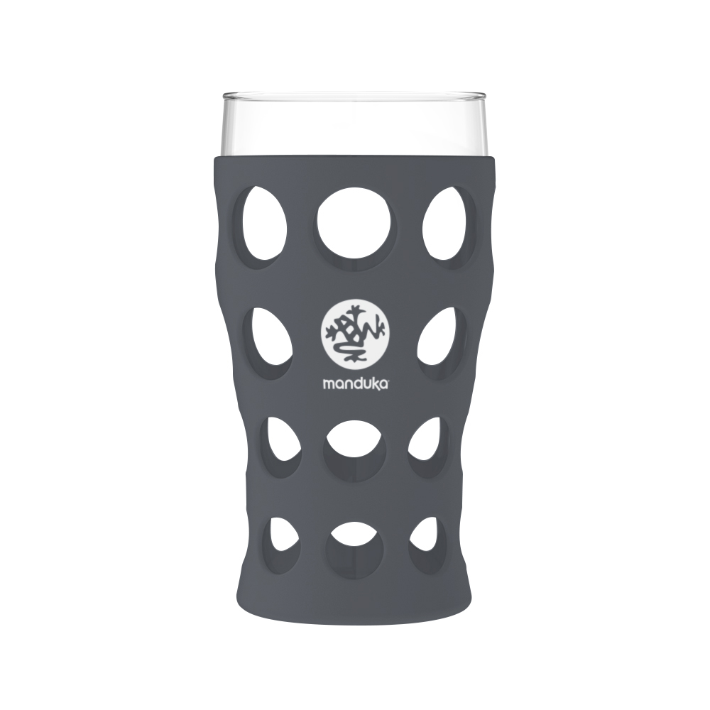 Lifefactory® Custom Beverage Glass 20 Oz. with Silicone Sleeve 2 Pack