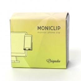 Custom Moniclip™ Phone Holder for Desktop Monitor