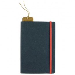 Custom Recycled Bonded Leather Hardcover Notebook