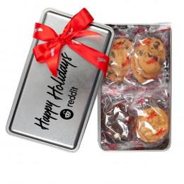 Custom Mrs. Fields Variety Cookie Tin
