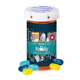 Happy Nurses Week Candy Pill Bottle