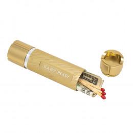 Custom Pocket Flashlight with Hidden Stash Compartment