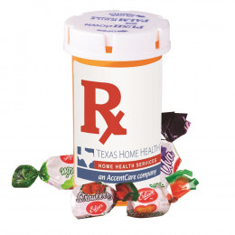 Custom Candy Pill Bottle - Large