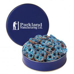 Branded Color Sprinkles Circular Gift Tin