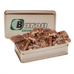Gourmet Chocolate Bark 14.5 oz. Rectangular Gift Tin