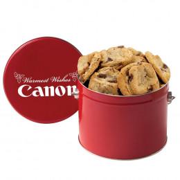 Gourmet Cookie Tin - Half Gallon