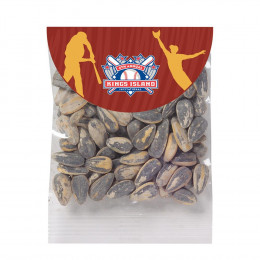 Custom Homerun Header Bags with Your Choice of Snack Fill