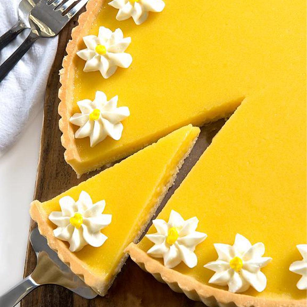 David's Cookies Lemon Flower Tart - 9.5''