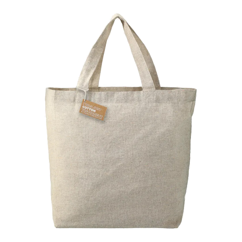 Custom Recycled 5oz Cotton Twill Grocery Tote