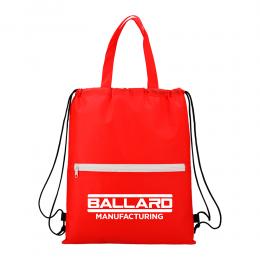 Custom Budget Non-Woven Drawstring Bag