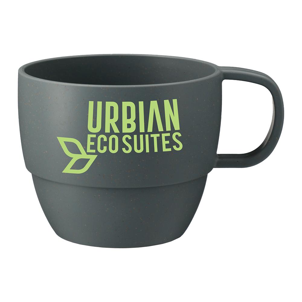 Custom Vert 13oz Wheat Straw Mug