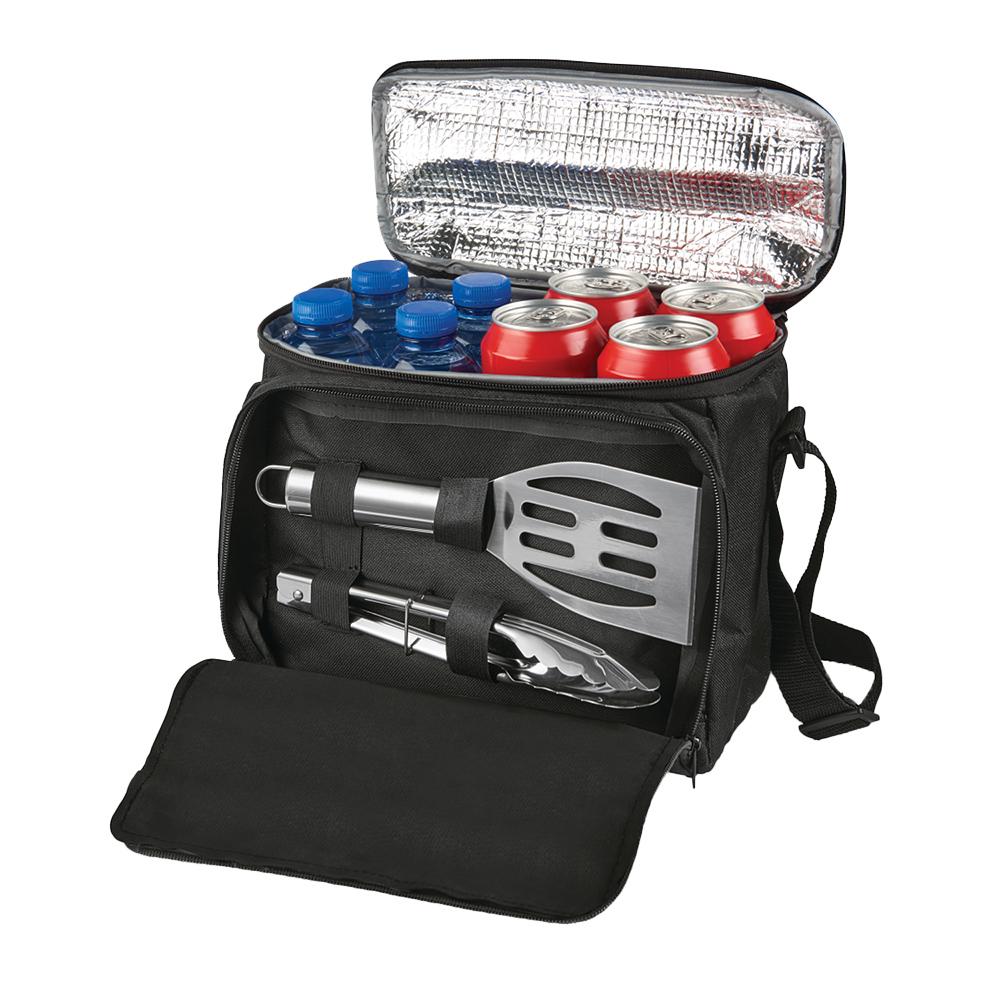 BBQ Set With Cooler Custom Bag