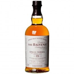 The Balvenie Single Barrel Sherry Cask 15-Year-Old Single Malt Scotch Whisky 750ml