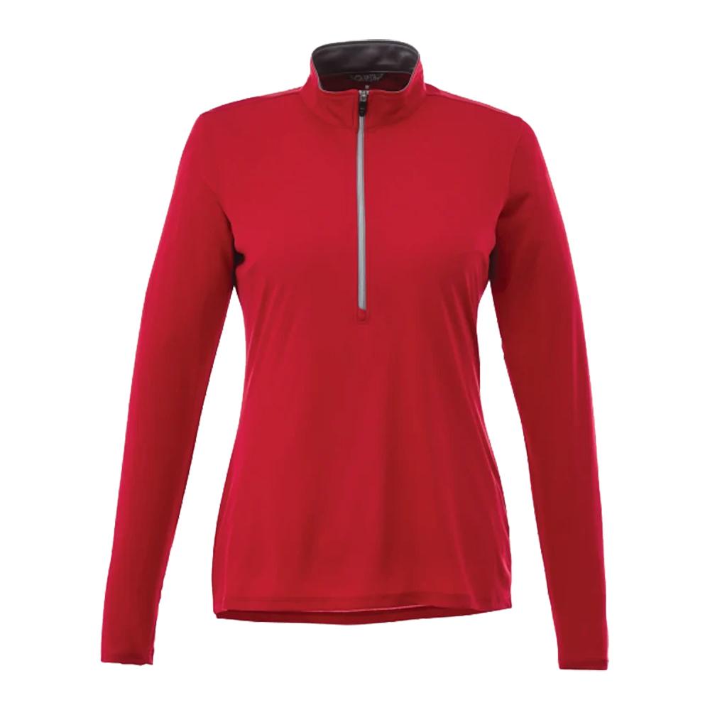 Vega Tech Quarter Zip Custom Pullover - Women's