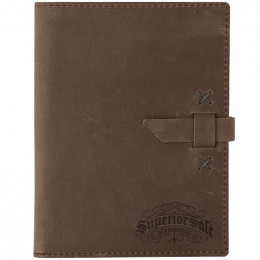 Custom Mini Tasker Leather Mini Padfolio