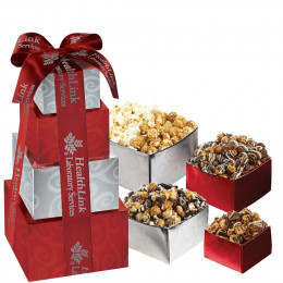 Gourmet Popcorn Tower Gift Box Set