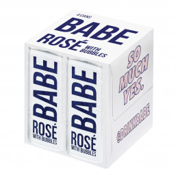 Babe Rose with Bubbles 250ml 4pcs