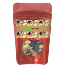 Healthy Resealable Window Pouch Snack Mix