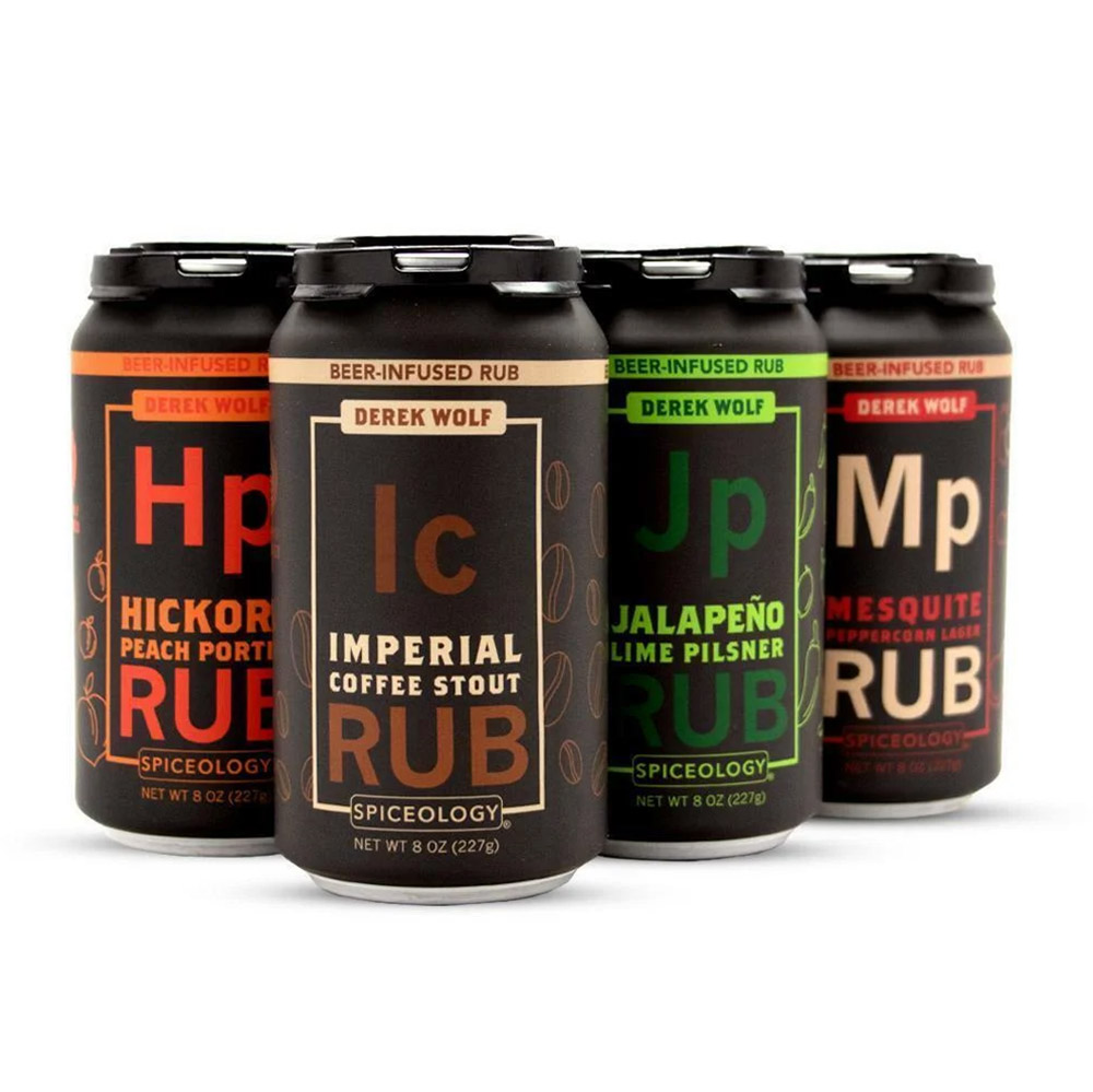 Derek Wolf | 6 Pack Beer Rub Sampler