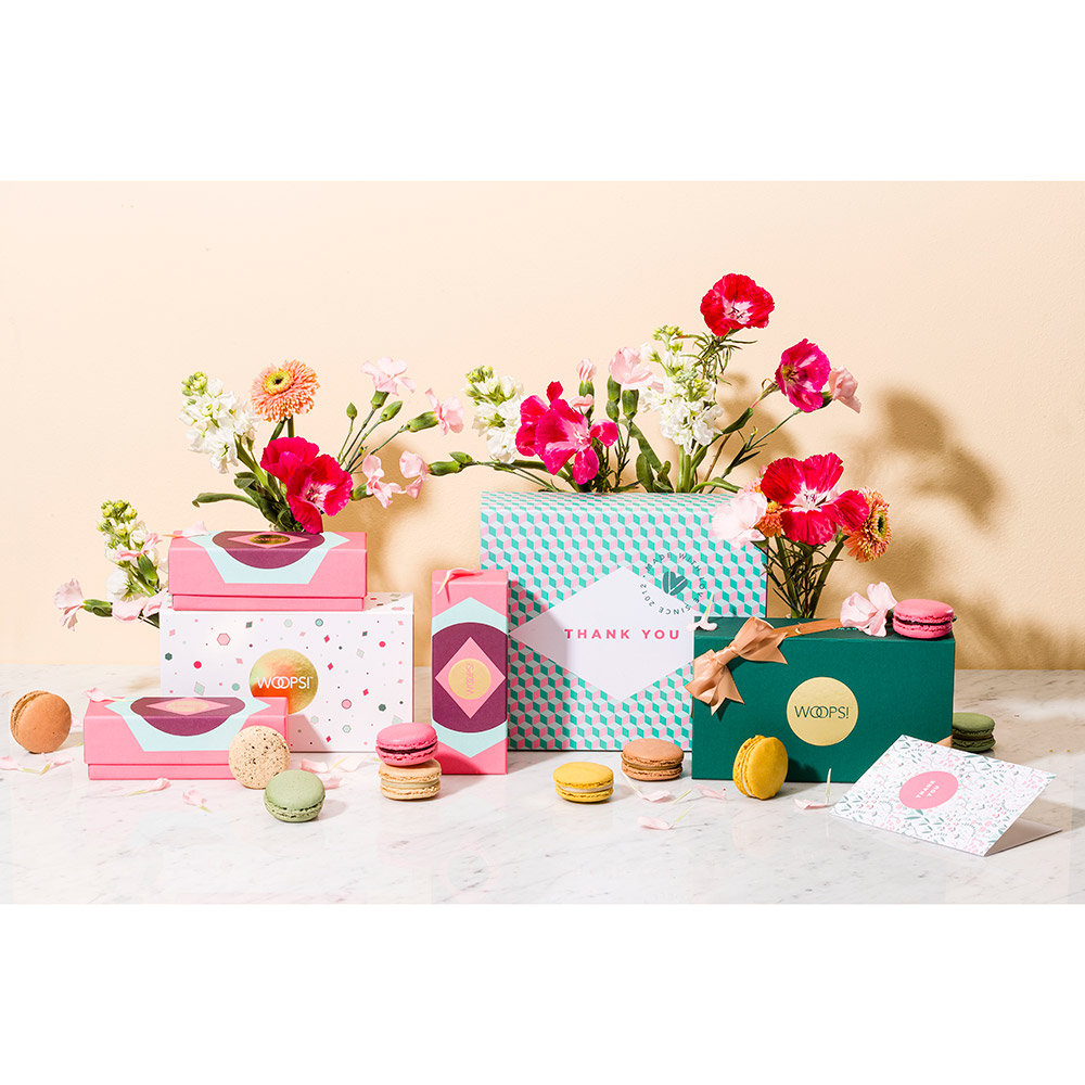 Woops Thinking of You Macaron Gift Box - 18 pc