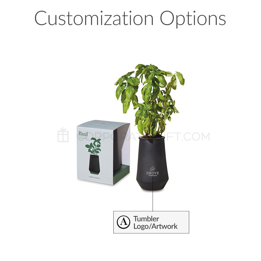 Modern Sprout Tapered Tumbler Custom Grow Kit
